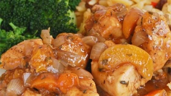 apricot chicken recipe without french onion soup