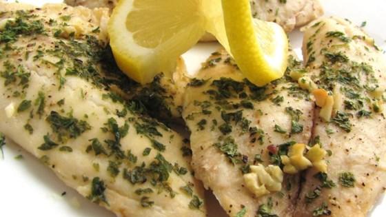 Easy baked tilapia recipes garlic