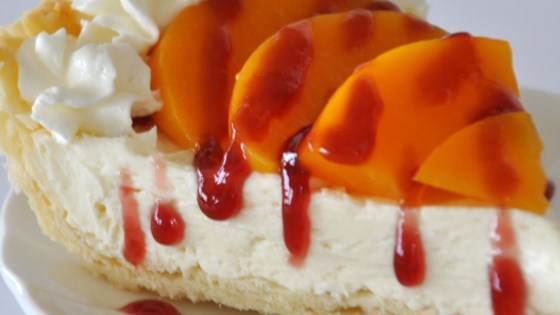 Peach Surprise Pie