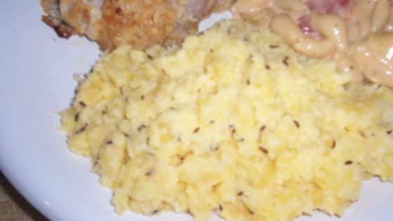 Mashed Turnips with Caraway