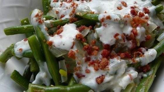 Blue Cheese Green Beans