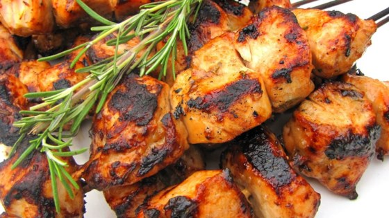 Rosemary Ranch Chicken Kabobs