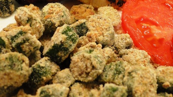 Oven Fried Okra