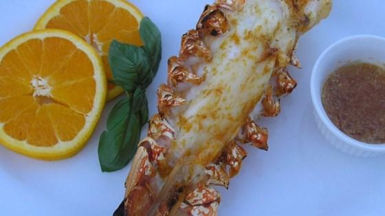 Orange-Scented Grilled Lobster Tails
