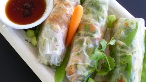 Thai Chicken Spring Rolls