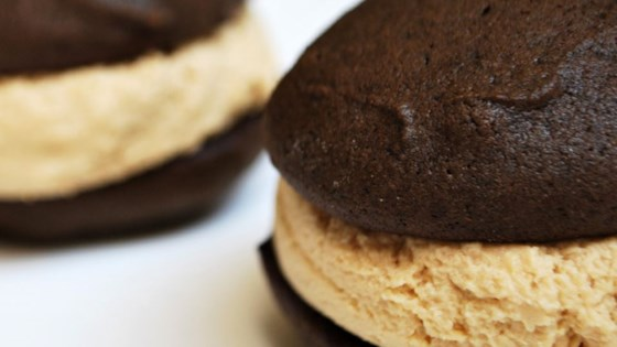 Stef's Whoopie Pies with Peanut Butter Frosting