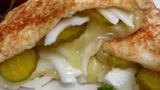 Grilled Cheese, Pickle and Vidalia Onion Sandwich Recipe - Allrecipes ...