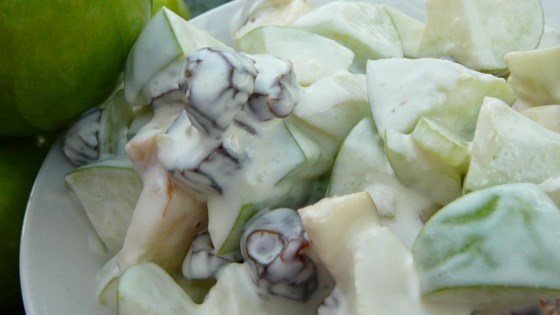 Triple Crunch Apple Salad