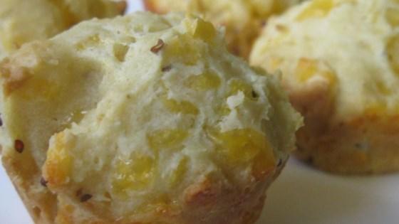 Golden Cheddar Muffins