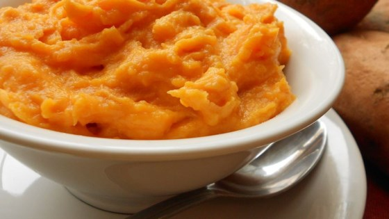 Silky Sweet Potato Puree