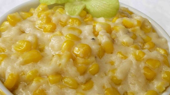 Creamed Corn Cakes Recipe