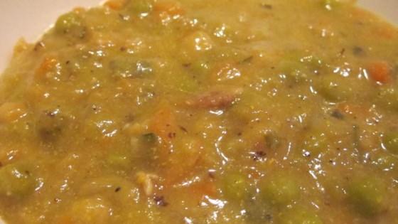 Sarah's Pea Soup