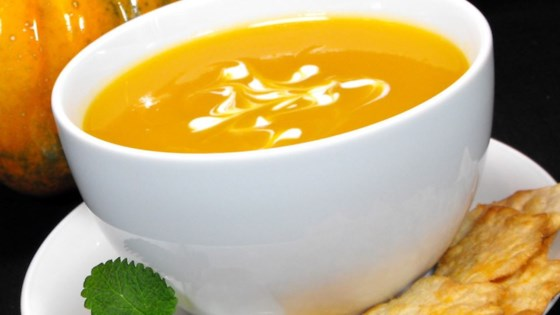 Butternut and Acorn Squash Soup