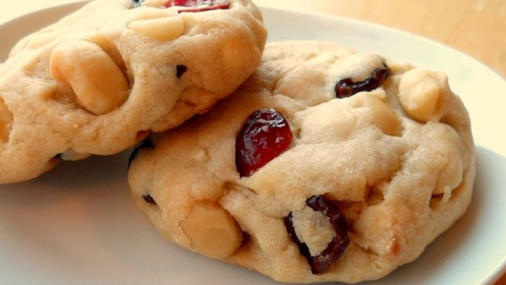 White Chocolate Macadamia Cranberry Dreams