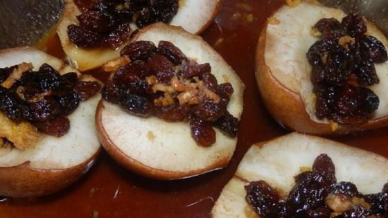 Baked Stuffed Pears