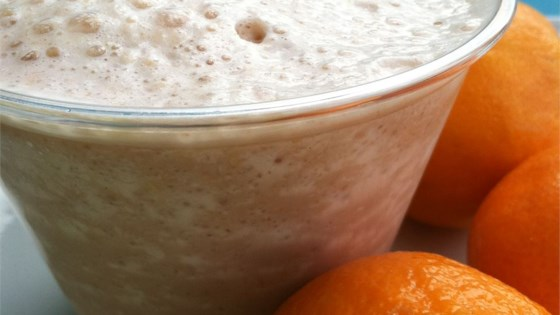 Orange Chocolate Breakfast Drink