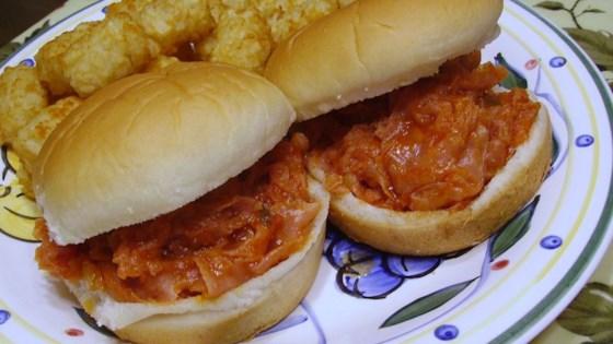 Pittsburgh Ham Barbecue Sandwich