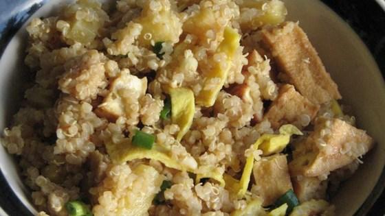 Pineapple Fried Quinoa