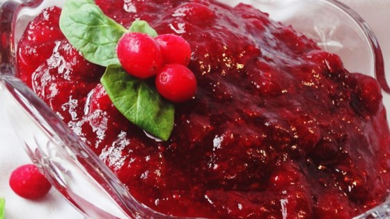 Holiday Cranberry Sauce