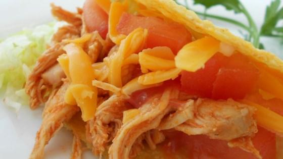 Sarah's Easy Shredded Chicken Taco Filling