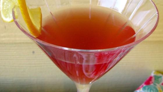 Cosmo-Style Pomegranate Martini