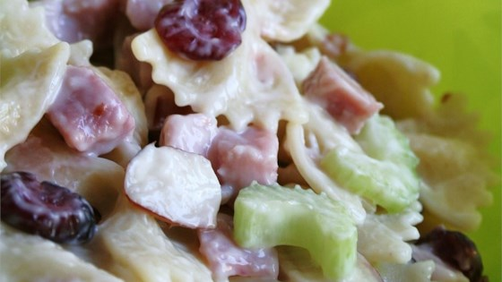 Cranberry and Almond Pasta Salad