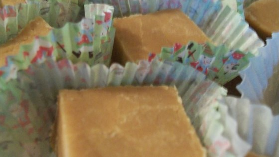 Penuche Sugar Fudge