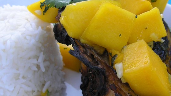 Grilled Chicken with Fresh Mango Salsa