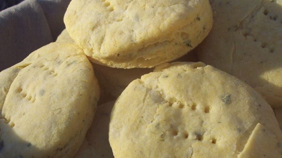 Sage Cornmeal Biscuits