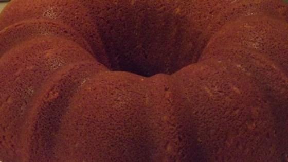 Chocolate Pound Cake II