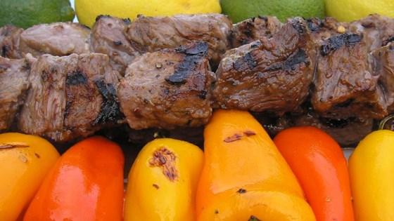 Margarita Beef Skewers