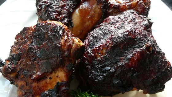 Blackened Cinnamon BBQ Chicken