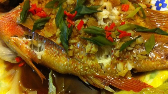 Chinese-Style Steamed Fish