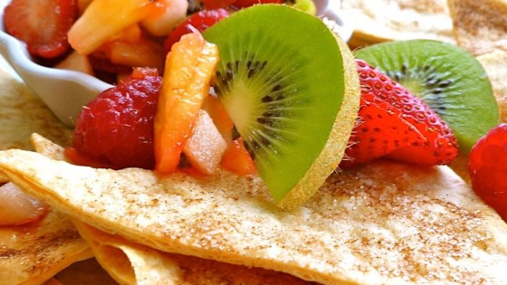 Annie's Fruit Salsa and Cinnamon Chips Recipe - Allrecipes.com