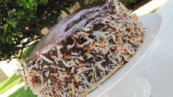 Chocolate Coconut Cream Cake