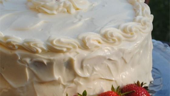Best Ever Strawberry Cake
