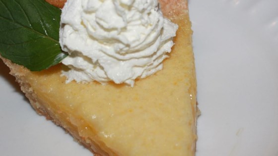 Meyer Lemon Pie