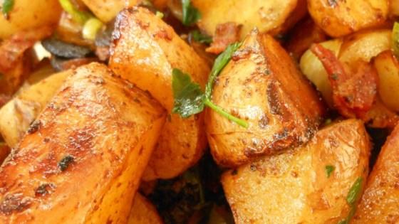Balsamic Glazed Roasted Potato Salad