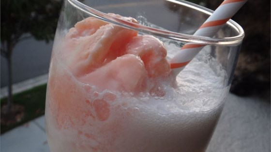 Orange Cream Milk Punch