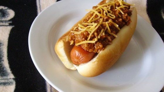 Jeff's Hot Dog Chili