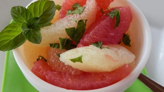 Drunken Grapefruit Salad