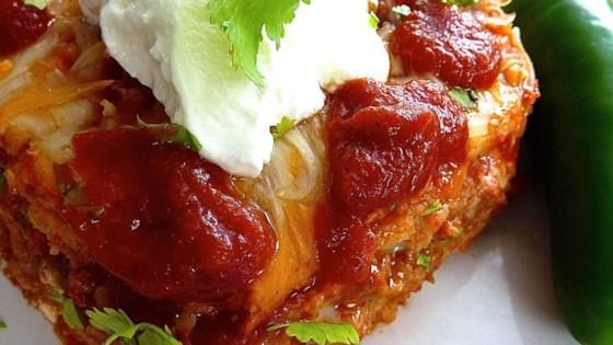 Mexican Lasagna Lite