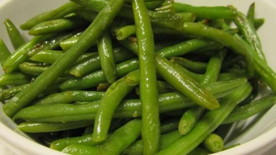 Easy Garlic Green Beans Recipe Allrecipes Com