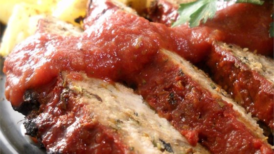 Veggie Turkey Meatloaf with Tangy Balsamic Glaze