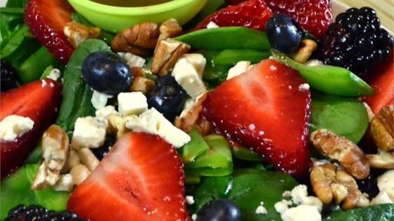 Sugar Snap Pea and Berry Salad