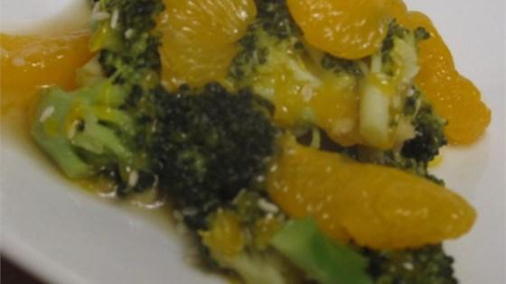 Broccoli with Mandarin Oranges