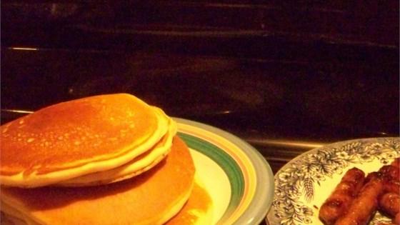 Ginger-Spiced Pancakes
