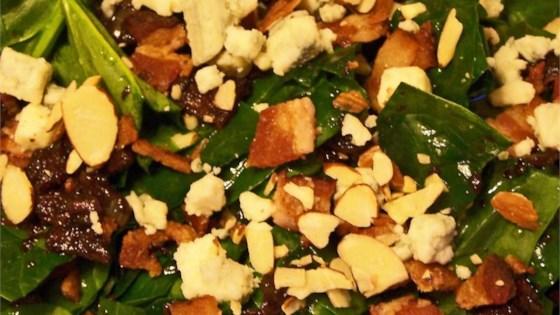 Spinach-Gorganzola Salad