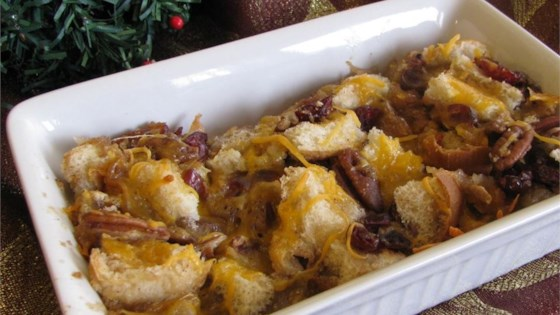 Christmas Bread Pudding