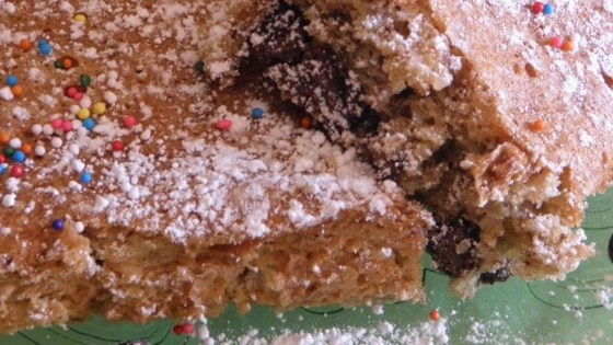 Chocolate Graham Nut Cake